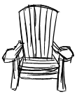 adirondack chair sketch. we all learned woodworking this year building our own adirondack chairs yes even j built one with help chair sketch