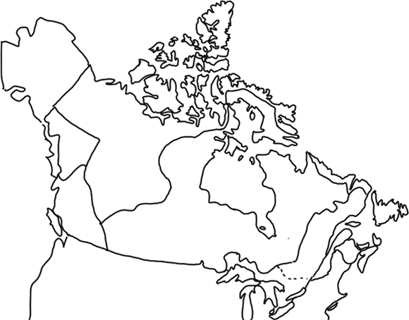 Map Of Canada For Elementary Students.Learning New Tricks About Learning Maps And History