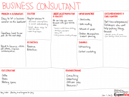 20130101 lean canvasses - business consultant