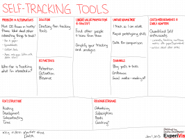 20130101 lean canvasses - self-tracking tools