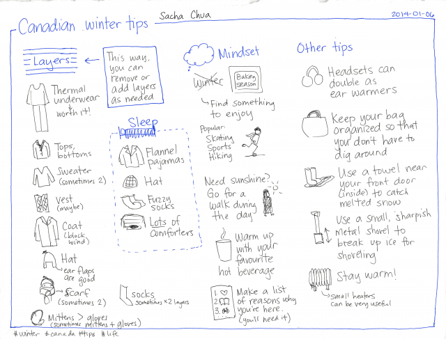 2014-01-06 Canadian winter tips