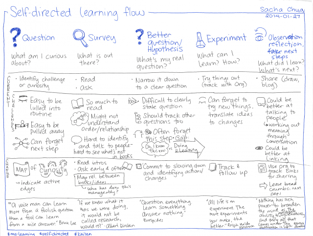 2014-01-27 Self-directed learning flow