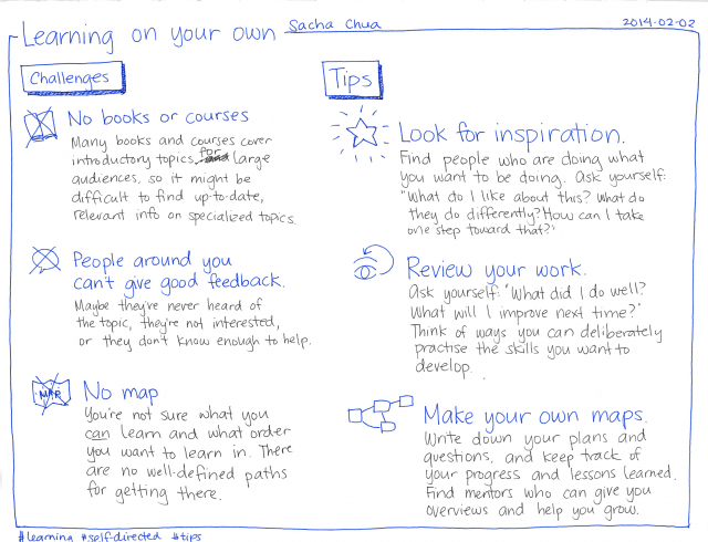 2014-02-02 Learning on your own
