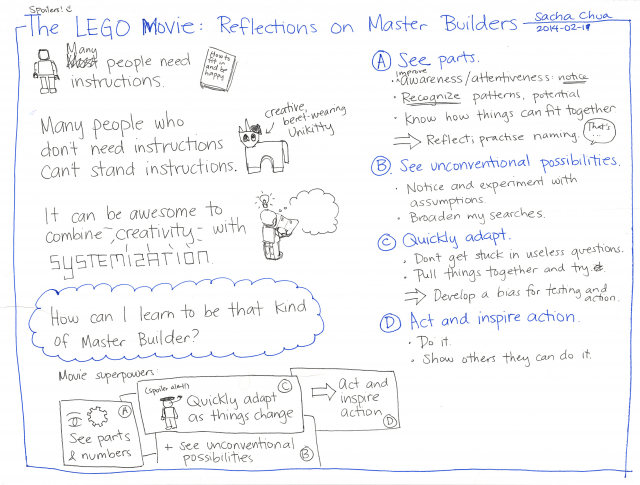 2014-02-11 The LEGO Movie - Reflections on Master Builders