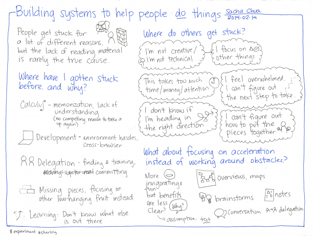 2014-02-14 Building systems to help people do things