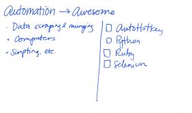 2014-02-27 Automation #goals #automation