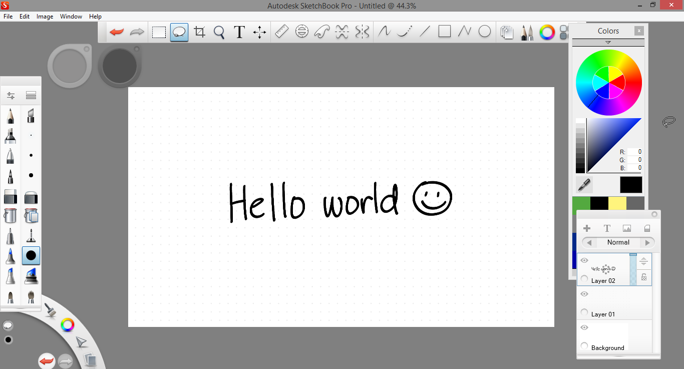 how to make a pdf out of sketchbook pro