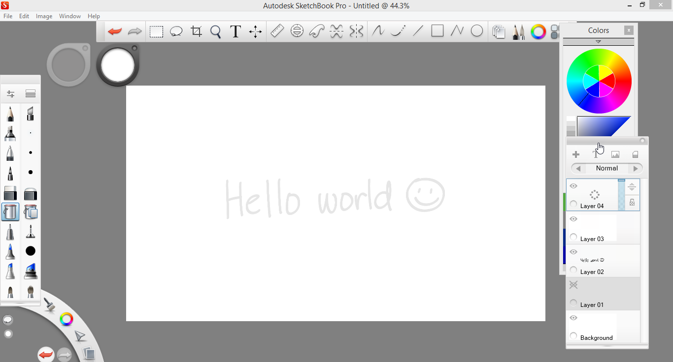 How to create grid in sketchbook pro - Step 2 Prepare For Animation