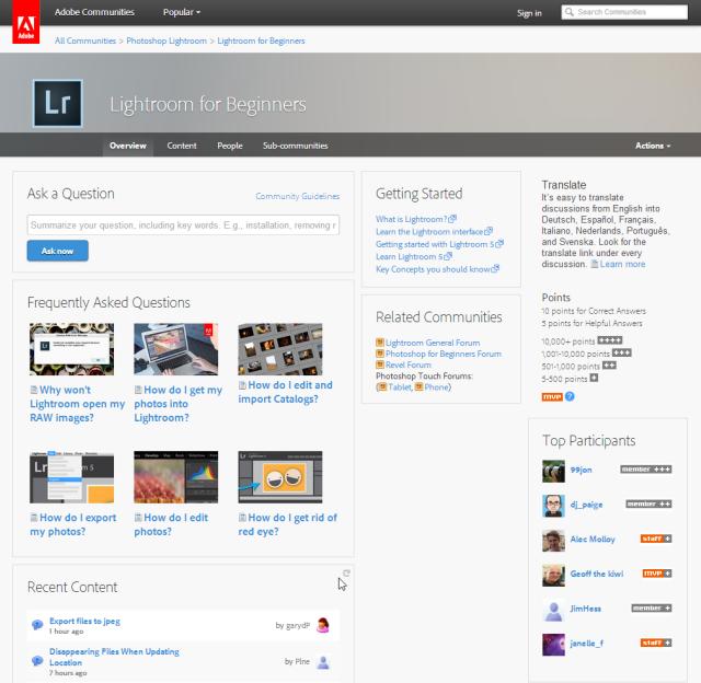 2014-07-02 13_54_57-Community_ Lightroom for Beginners _ Adobe Community