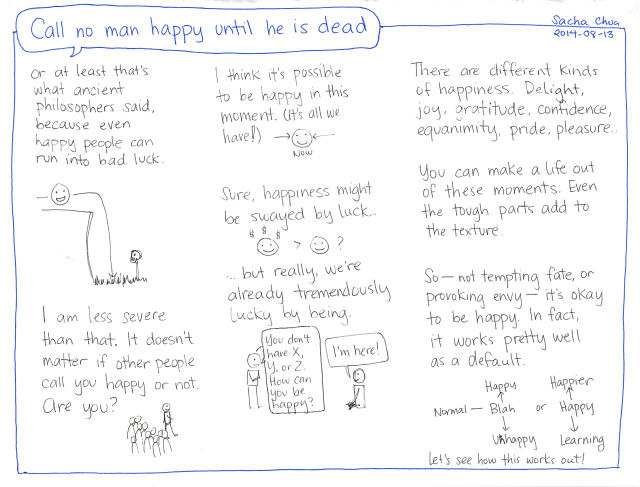 2014-08-13 Call no man happy until he is dead - #philosophy