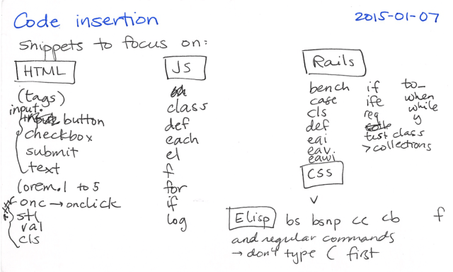 2015-01-07 Code insertion -- index card