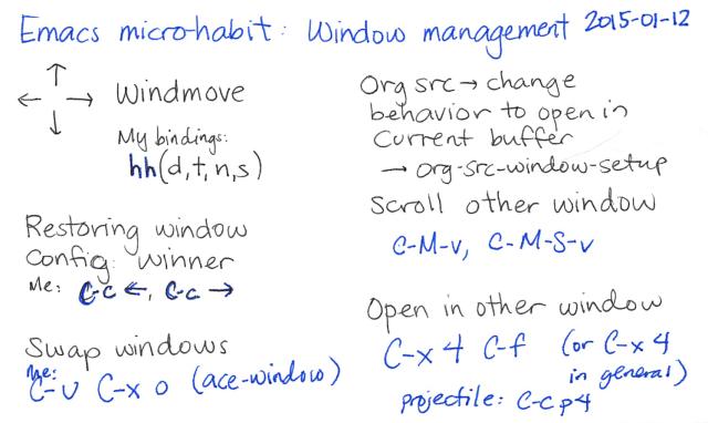 2015-01-12 Emacs microhabit - window management -- index card #emacs