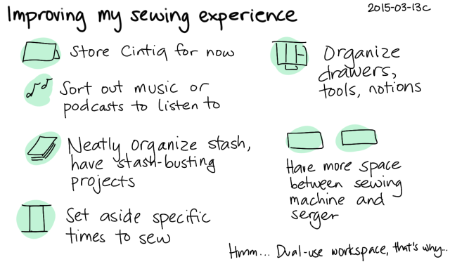 2015-03-13c Improving my sewing experience -- index card #sewing