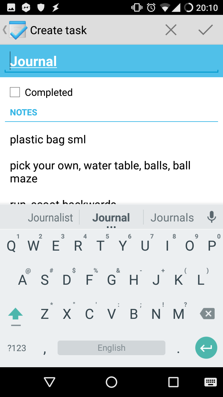 Daily, weekly, and monthly journals: my Memento + Google