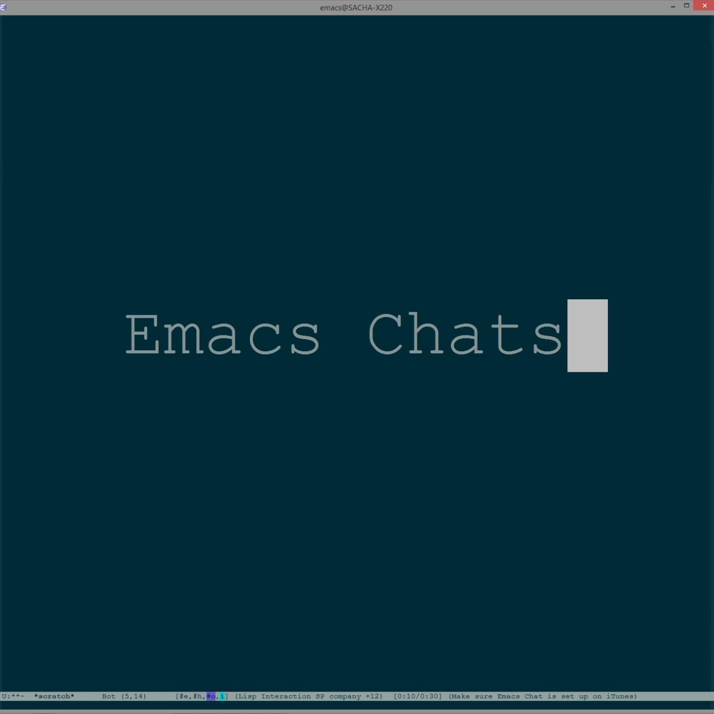 Emacs Chat